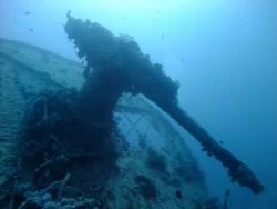 Red Sea Thistlegorm Gun