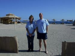 Master Instructor Mary and Course Director Nigel at the ready!