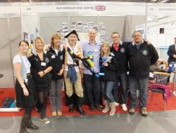 At the Dive Show April 2012 - with Kav the Balloonatic and Project AWARE