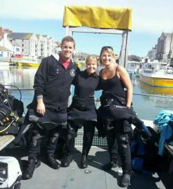'The Three Amigos' your dive instructors for 2012!!
